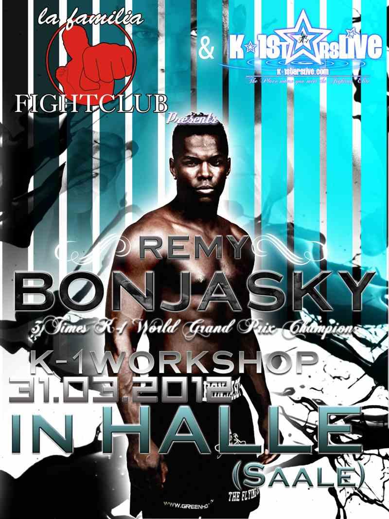 remy bonjasky k 1 workshop in halle saale. Black Bedroom Furniture Sets. Home Design Ideas