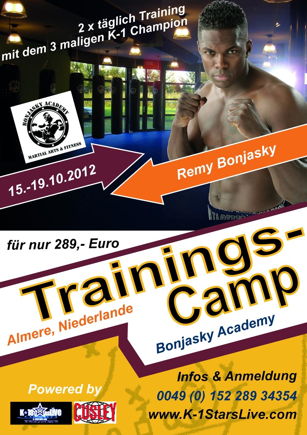 15.10.-19.10.2012 Remy Bonjasky Trainingscamp in Almere