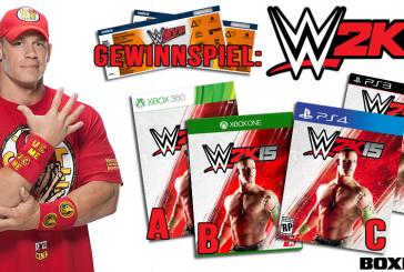 Gewinnspiel: WWE Live Tickets sowie WWE 2k15 Spiele