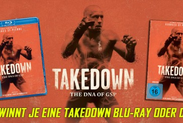 Takedown: The DNA Of GSP auf Blu-Ray und DVD