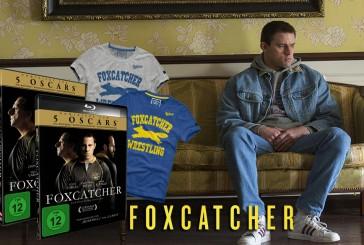Gewinnt Foxcatcher Blu-ray, DVD und T-Shirts