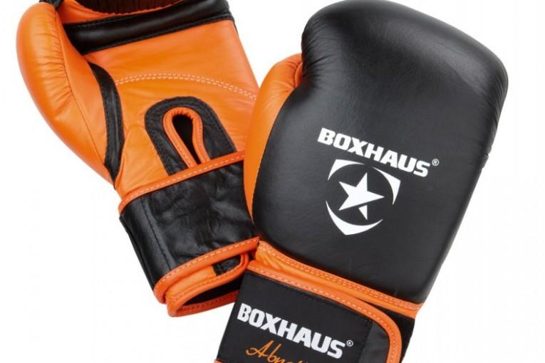 Boxhandschuhe mit klettverschluß