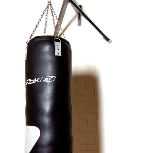 Boxsack aus Rindsleder von reebok
