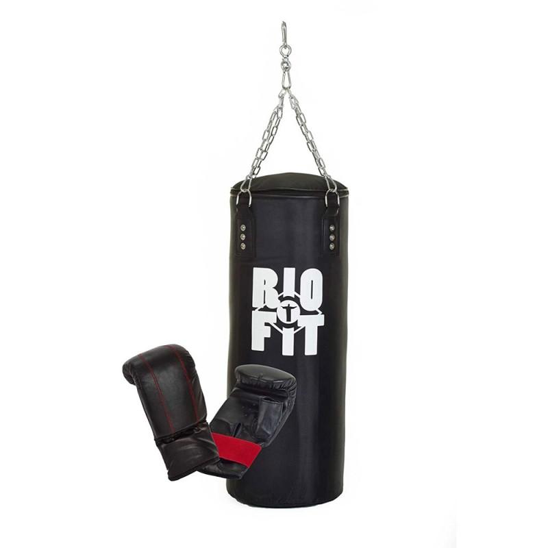 RioFit Nylon Boxsack Set 80cm gefüllt