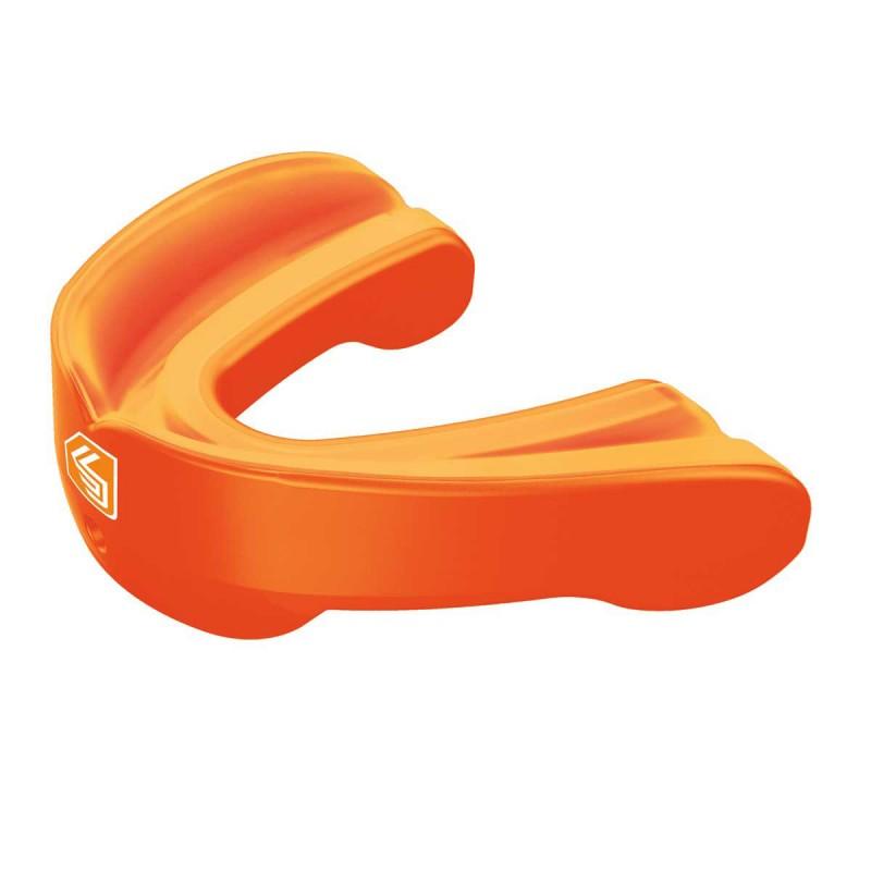 Abverkauf Shock Doctor 6412A Mundschutz GEL nano Zahnschutz Pearl-Orange Kind
