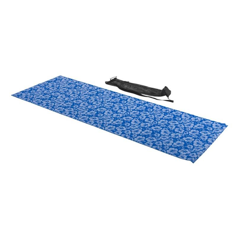Tunturi Yoga Matte mit Aufdruck Blau