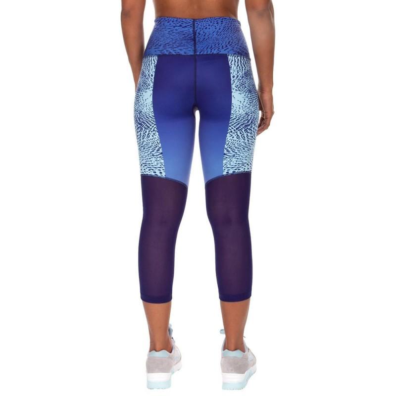 Abverkauf Venum Dune Crops Leggings Women Dark Purple Light Latigo Bay