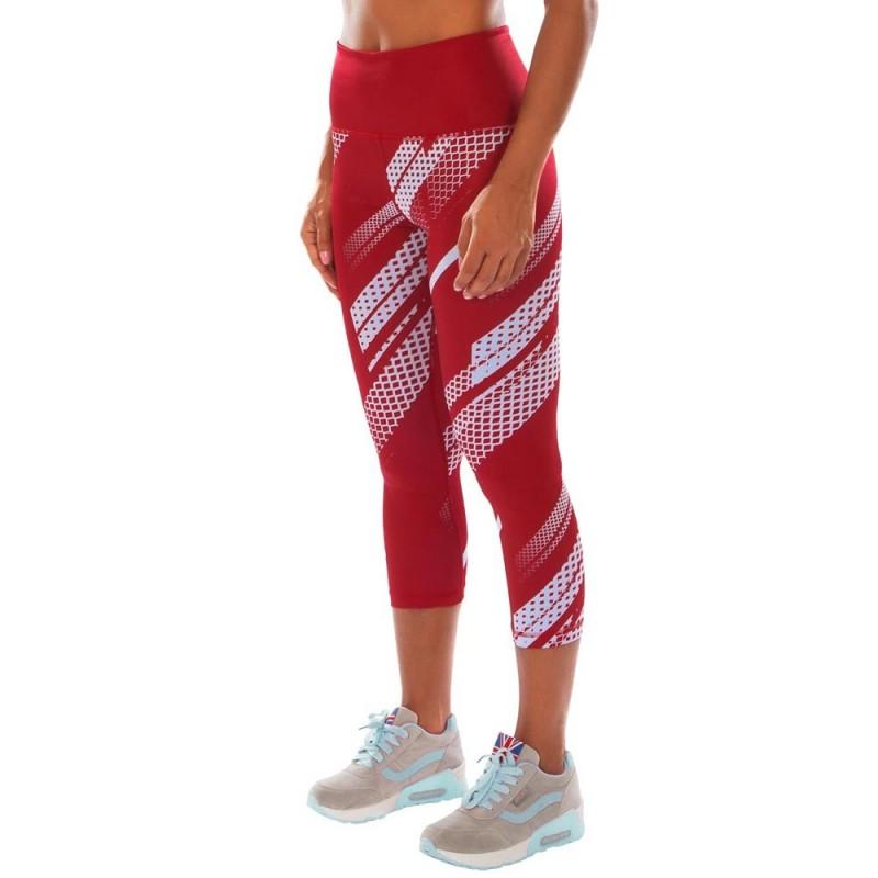Abverkauf Venum Rapid Crops Leggings Women Coral Light Cyan