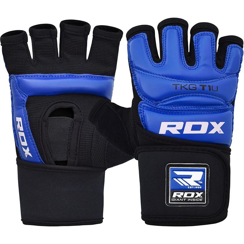 RDX Taekwondo Handschuh T1 blau