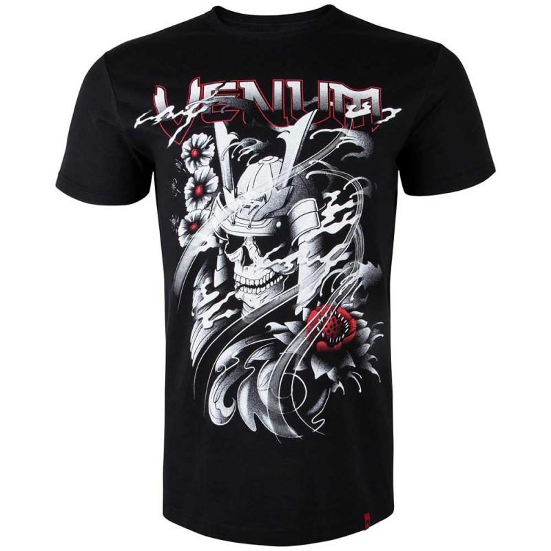 Abverkauf Venum Samurai Skull T-Shirt Black