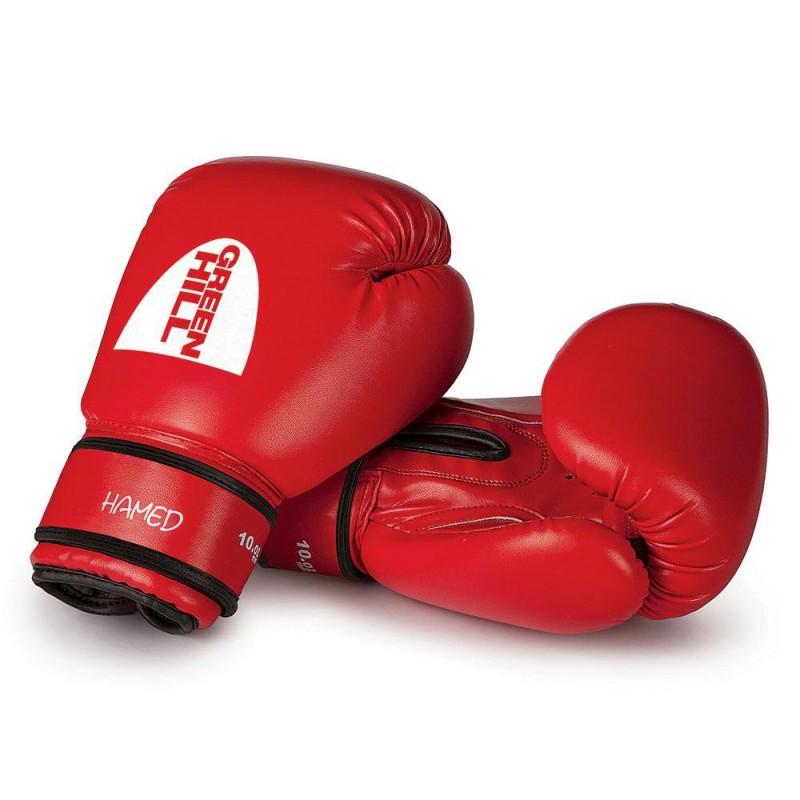 Green Hill HAMED Boxhandschuhe rot Ohne Trefferfläche