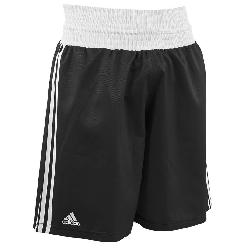 Adidas Boxing Shorts Punch Line Schwarz Weiss