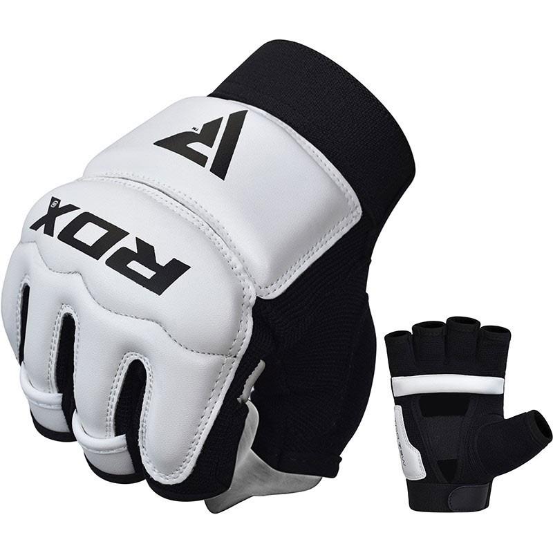 RDX Taekwondo Handschuh T2 weiss schwarz