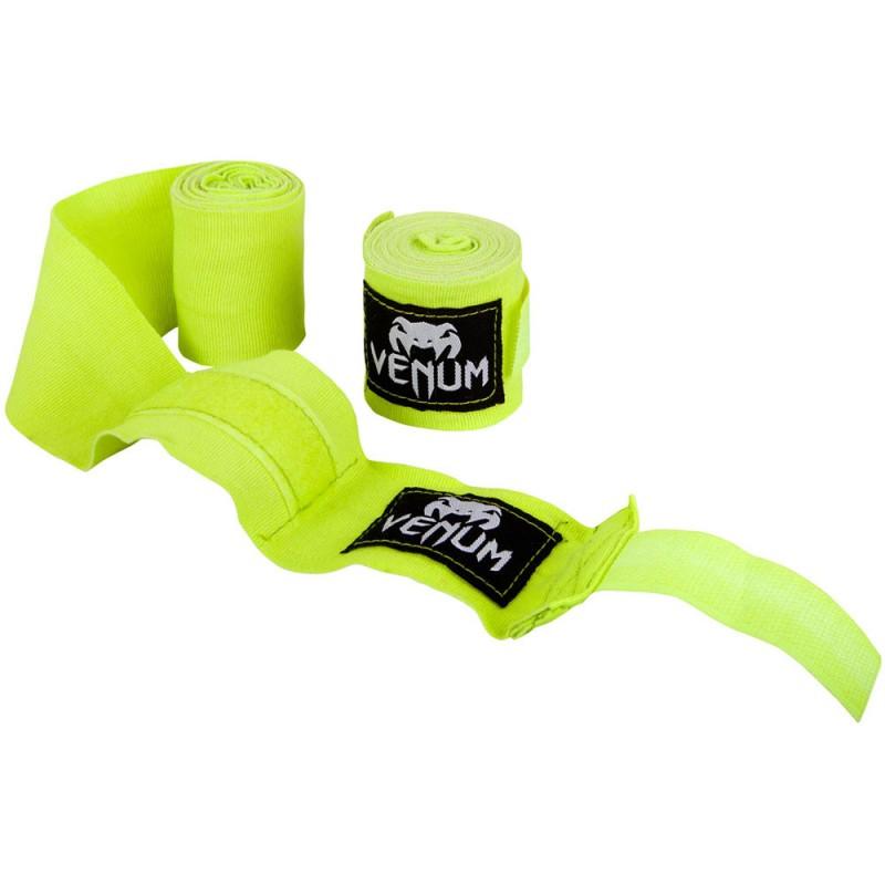 Venum Kontact Boxing Handwraps 2.5m Neo Yellow
