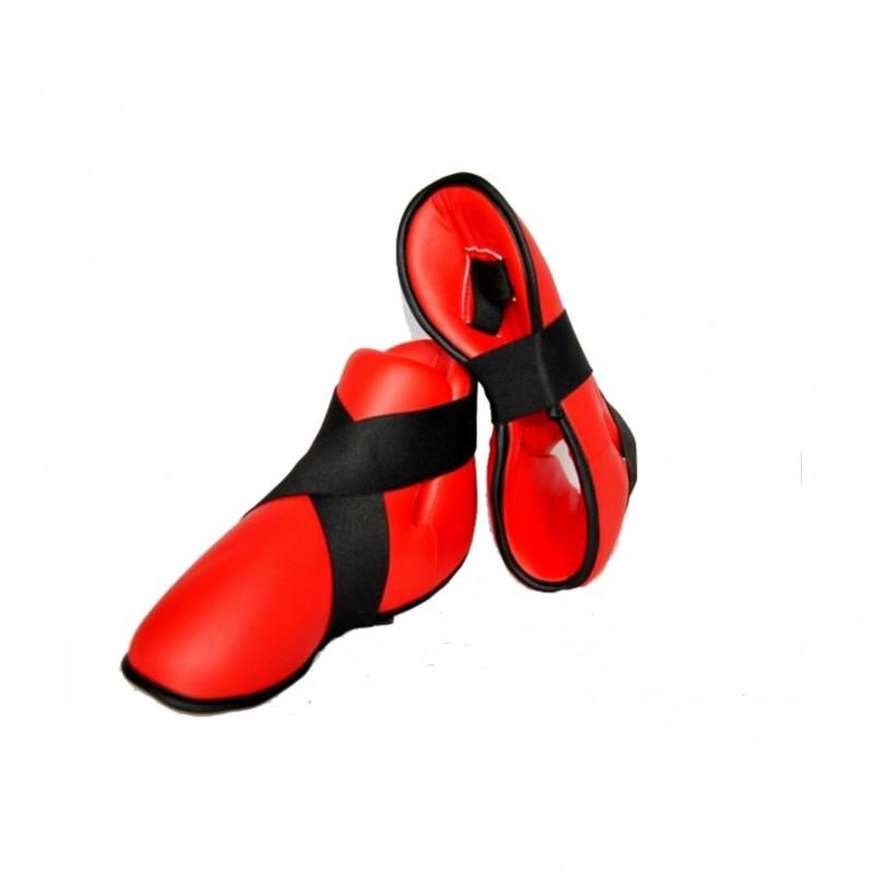 Phoenix Fussschutz Kunstleder Rot