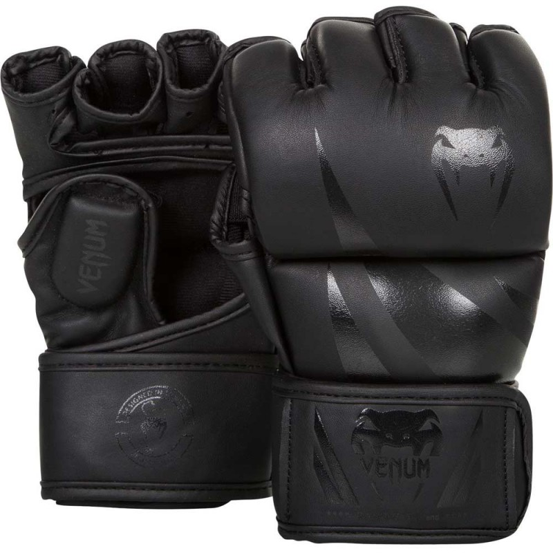 Venum Challenger MMA Gloves Black Black