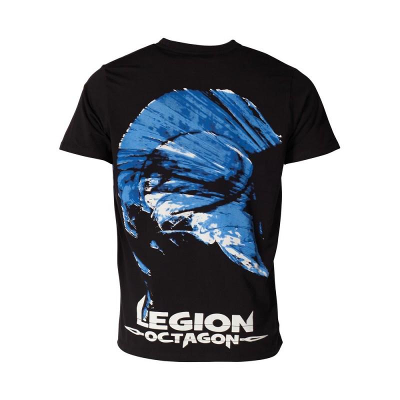 Legion Octagon Blue Head T-Shirt