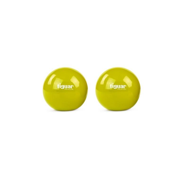 Tiguar Gewichtsbälle 0,5kg Oliv