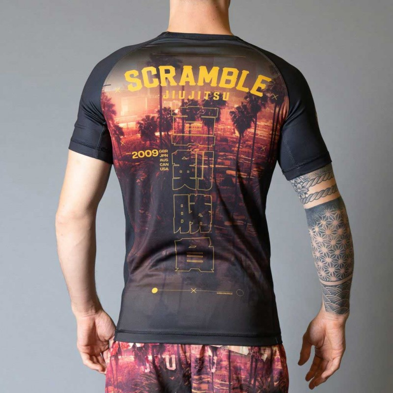 Scramble Cali Rashguard