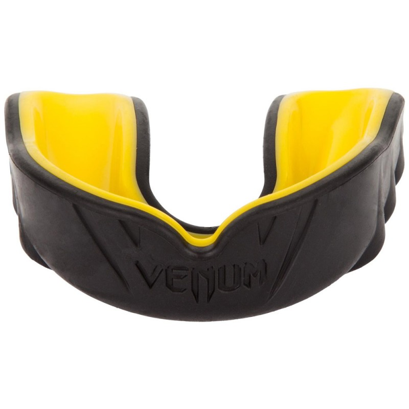 Venum Challenger Mouthguard Black Yellow