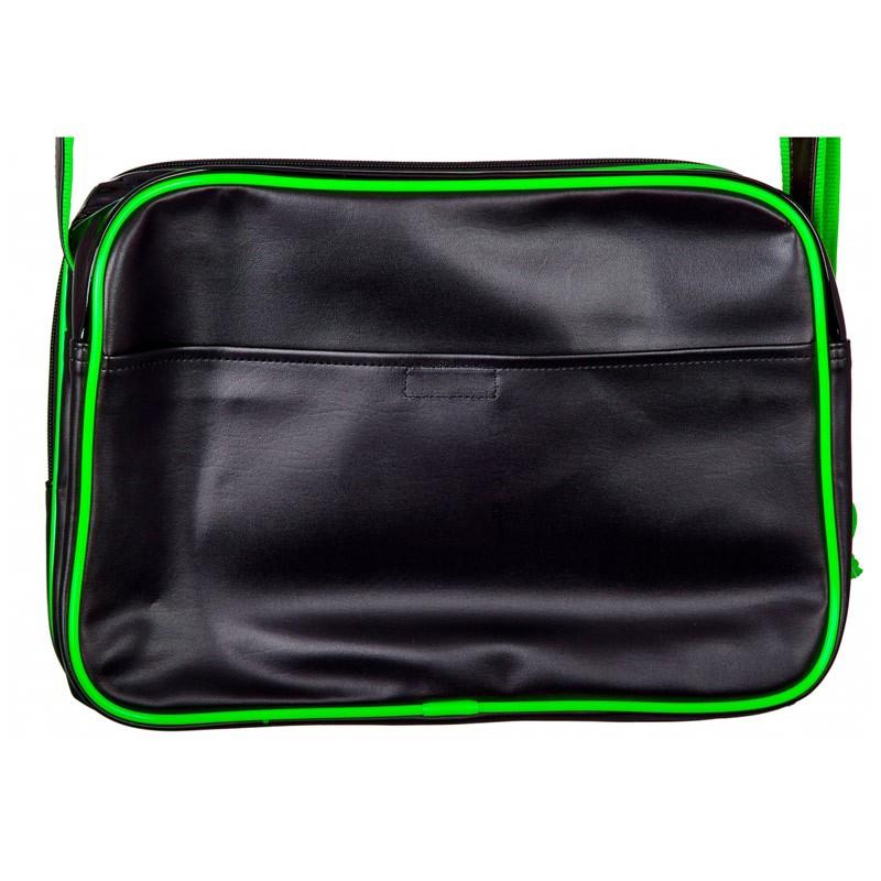 Adidas Freizeit Tasche Schwarz Grün L ADIACC110CS3 günstig