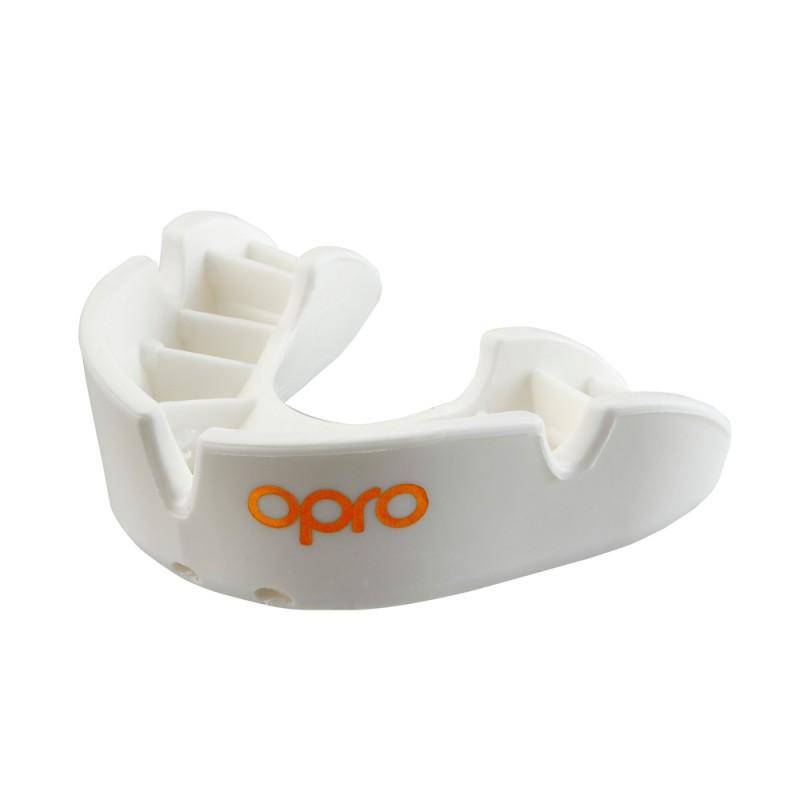 Opro Bronze Zahnschutz JR weiss