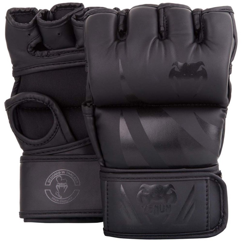 Venum Challenger MMA Gloves Without Thumb Black Black
