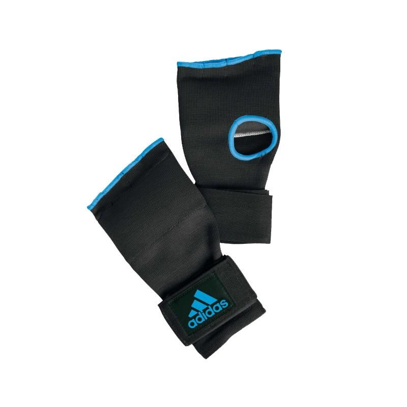 Abverkauf Adidas Super Innerglove Gel Knuckle Improved Black Solar Blue