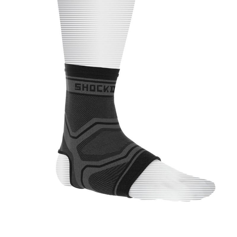 Abverkauf Shock Doctor Compression Knit Ankle Sleeve