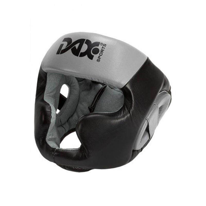 Abverkauf Dax Kopfschutz Rebound Sparring Schwarz Grau