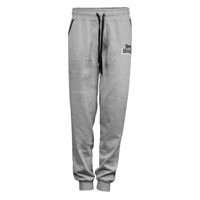 Abverkauf Lonsdale Two Tones Herren Jogging Pants Grey