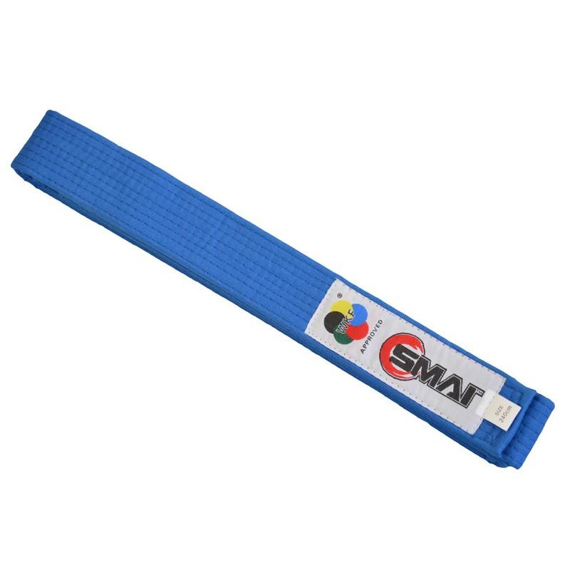 SMAI WKF Wettkampfgürtel Blau