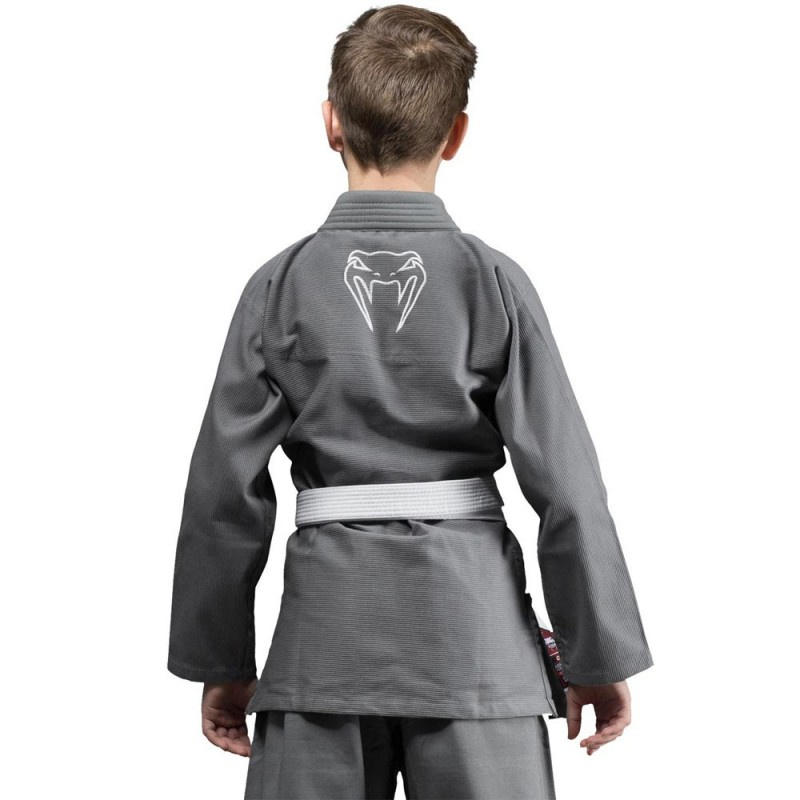 Venum Contender Kids BJJ Gi grey
