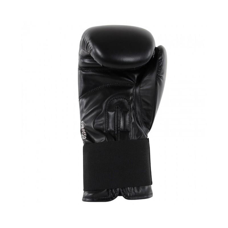 Adidas Speed 50 Boxhandschuhe Black White
