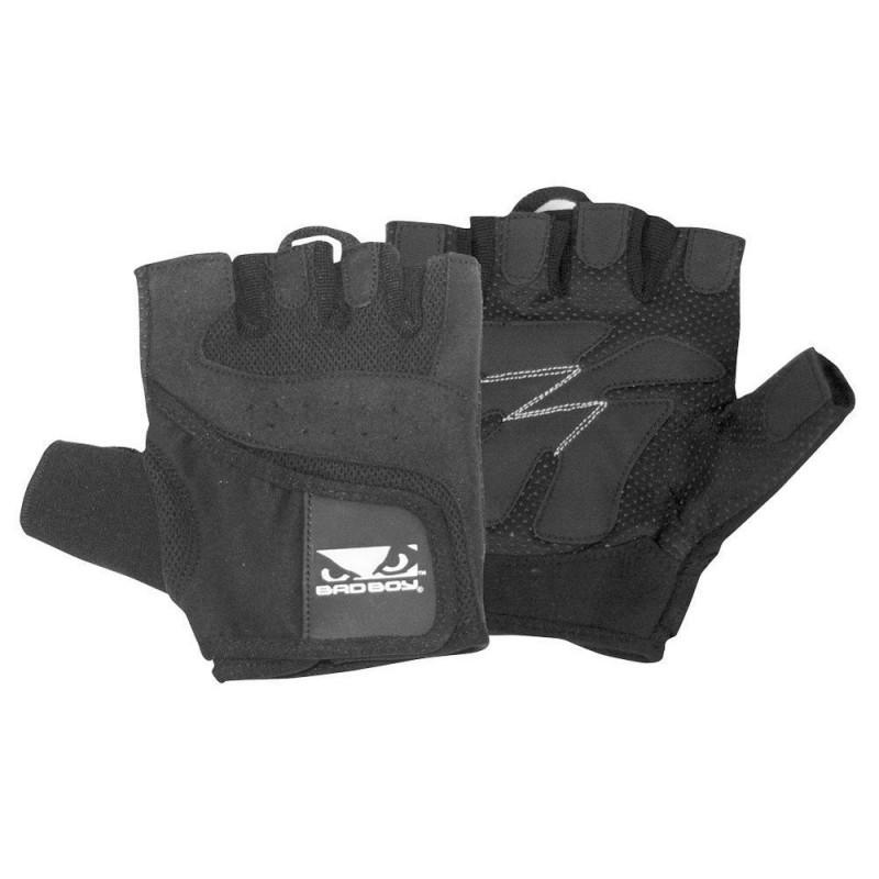 Abverkauf Bad Boy Premium Lifting Gloves Black