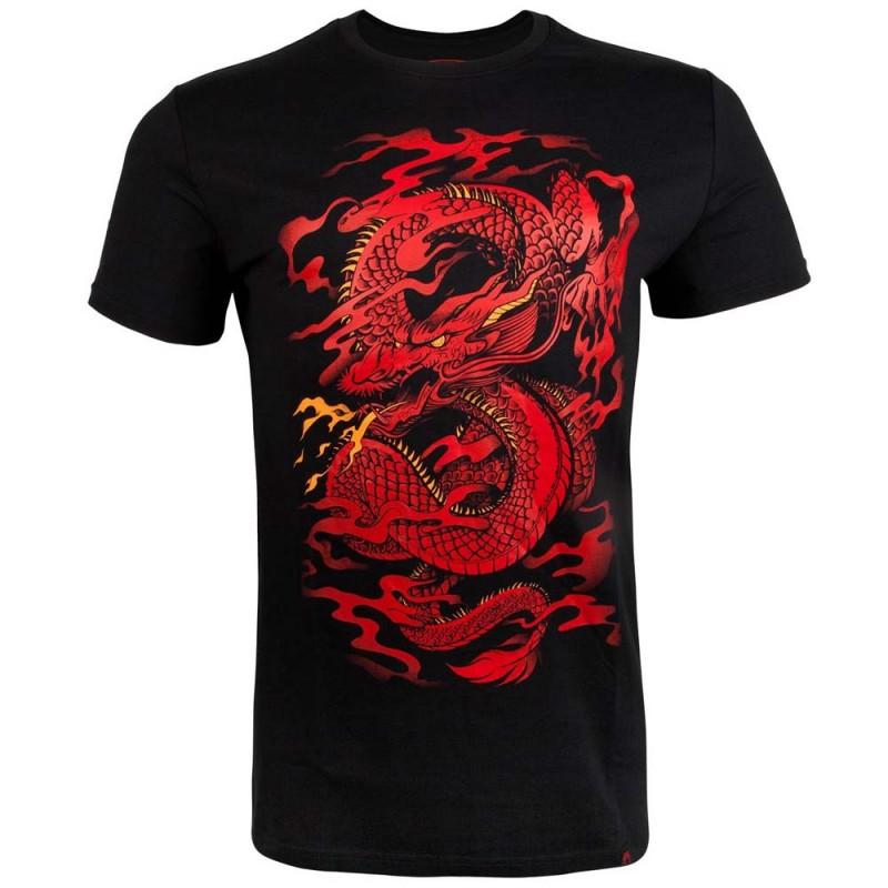 Venum Dragon's Flight T-shirt Black Red