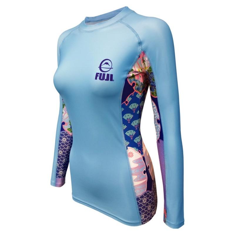 Fuji Sports Kimono Rashguard Women Blue