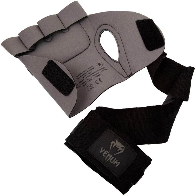Venum Kontact Gel Glove Wrap Grey Black