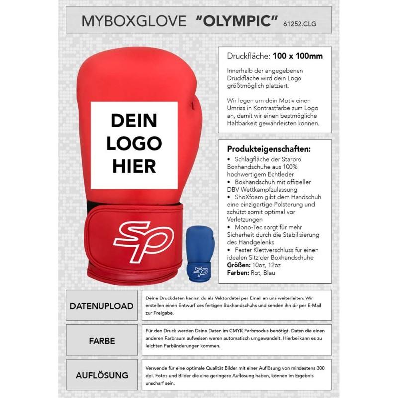 Starpro Olympic Myboxglove rot DBV