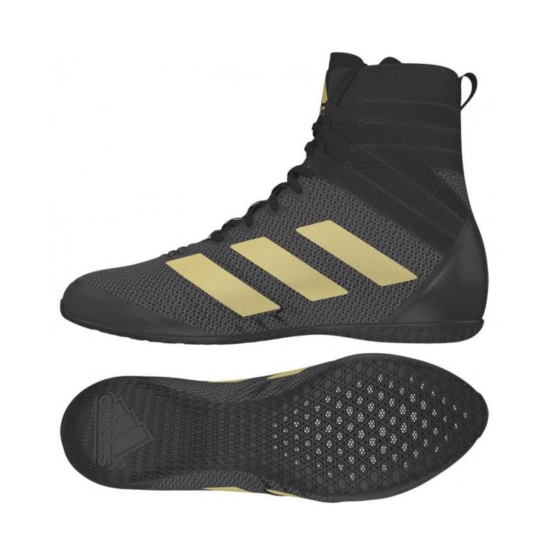 Abverkauf Adidas Speedex 18 Boxschuhe AC7153 Black Gold