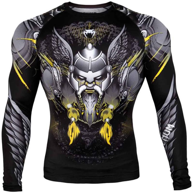 Venum Viking 2.0 Rashguard LS Black Yellow