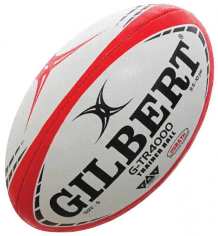 Gilbert Rugby Ball G TR4000 Red Gr. 4