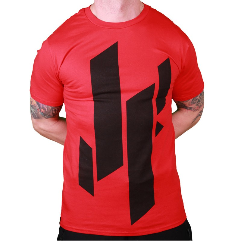 Abverkauf Justyfight Logo T-Shirt Rot