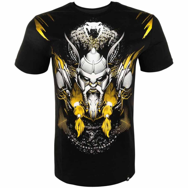 Venum Viking 2.0 T-Shirt Black Yellow