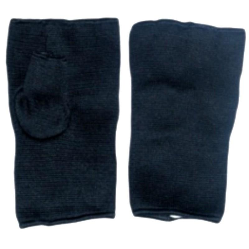 Box Innenhandschuhe Schwarz Elastisch