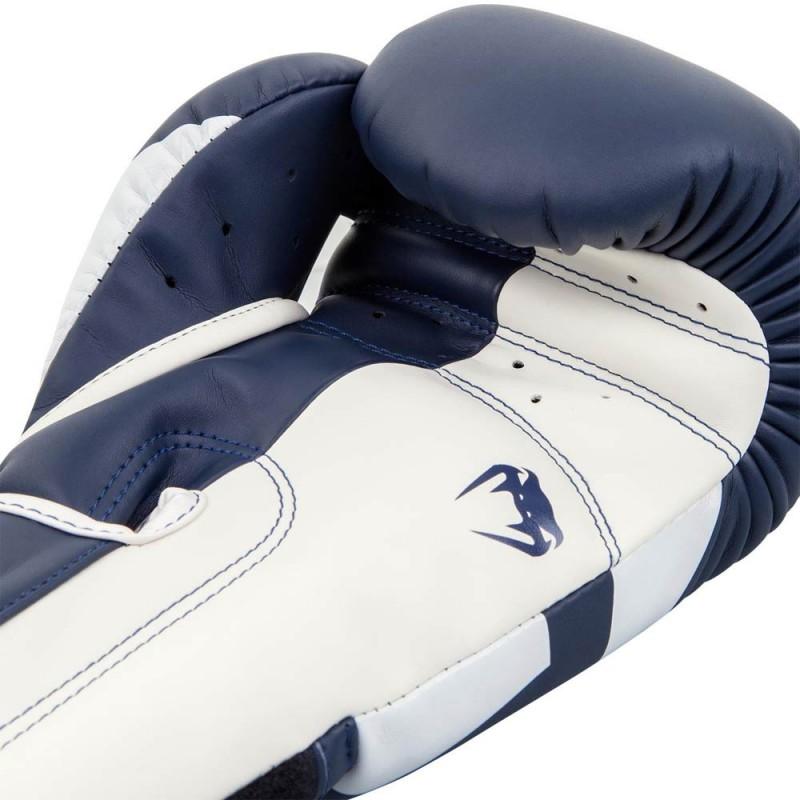 Venum Elite Boxing Glove Navy White