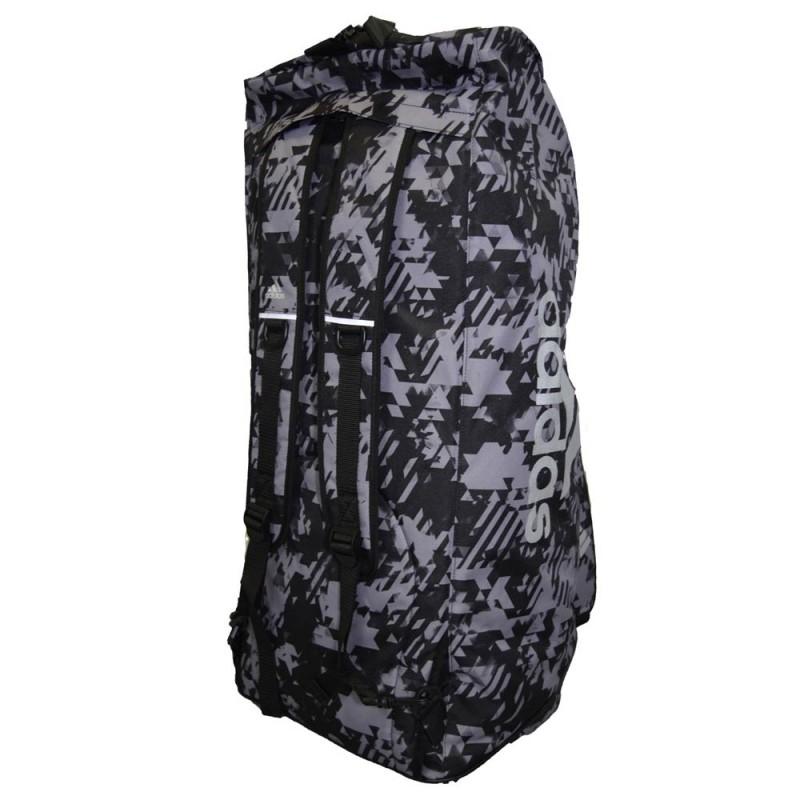 Adidas 2 in 1 Bag schwarz-camouflage-silber