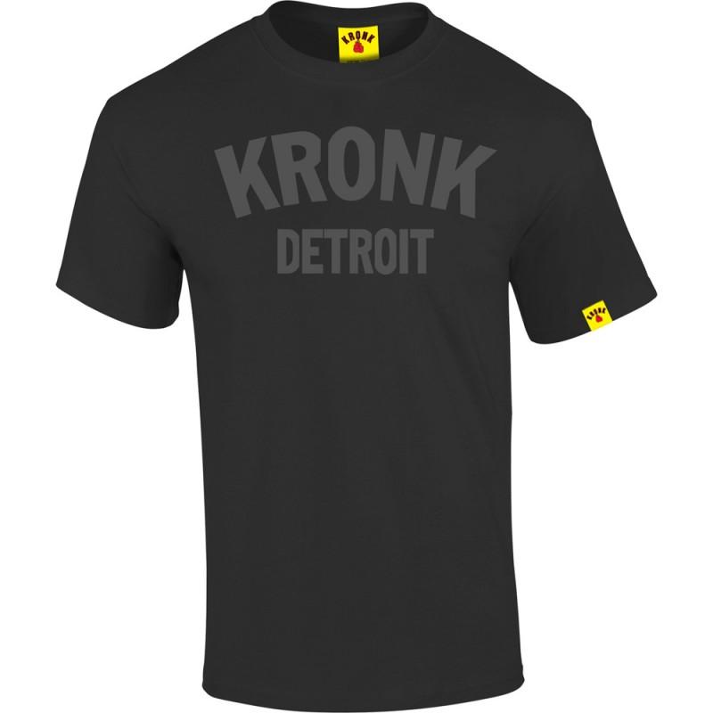 Kronk Detroit T-Shirt Black Charcoal