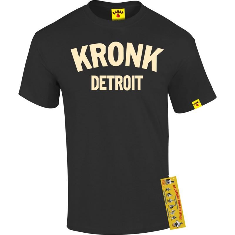 Kronk Detroit T-Shirt Black Cream