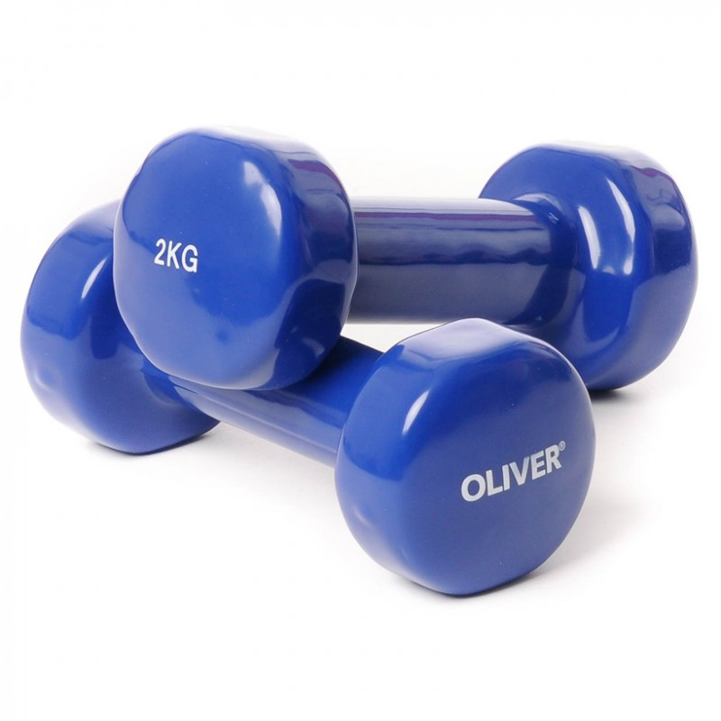 Oliver Vinyl Hantel 2 x 2.0kg